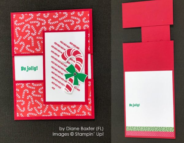 by Diane Baxter, Stampin' Up! One-by-One Holiday Card Swap