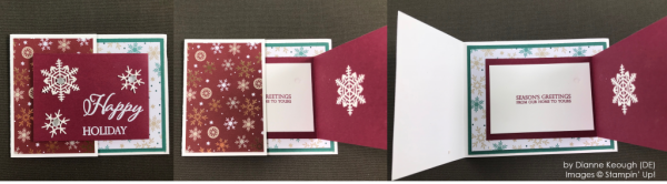 by Dianne Keough, Stampin' Up! One-by-One Holiday Card Swap