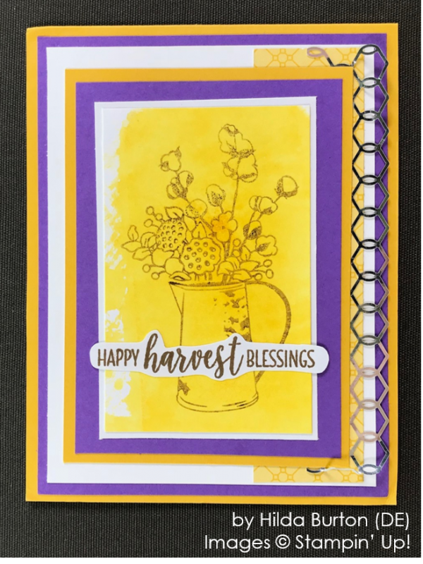 by Hilda Burton, Stampin' Up! One-by-One Holiday Card Swap