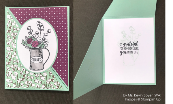 by Kevin Boyer, Stampin' Up! One-by-One Holiday Card Swap