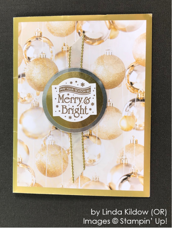 by Linda Kildow, Stampin' Up! One-by-One Holiday Card Swap