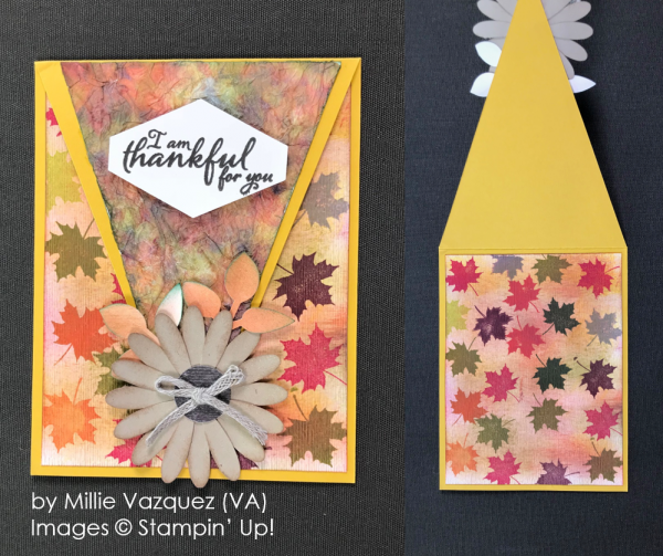 by Millie Vazquez, Stampin' Up! One-by-One Holiday Card Swap