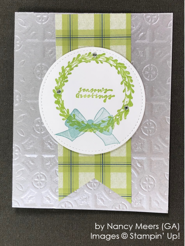 by Nancy Meers, Stampin' Up! One-by-One Holiday Card Swap