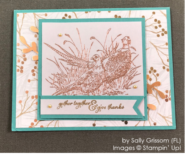 by Sally Grissom, Stampin' Up! One-by-One Holiday Card Swap