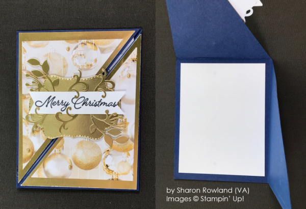 by Sharon Rowland, Stampin' Up! One-by-One Holiday Card Swap