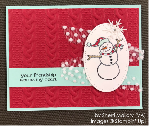 by Sherri Mallory, Stampin' Up! One-by-One Holiday Card Swap
