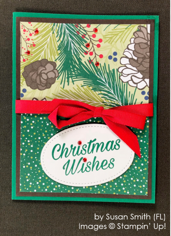 by Susan Smith, Stampin' Up! One-by-One Holiday Card Swap