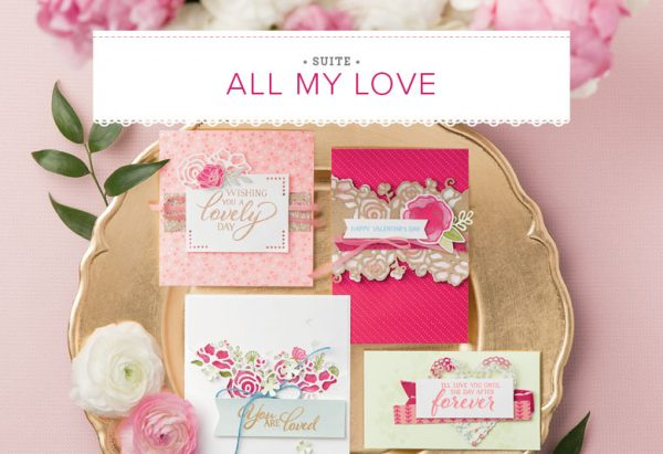 All My Love Suite, Stampin' Up! 2019 Occasions Catalog, 11022