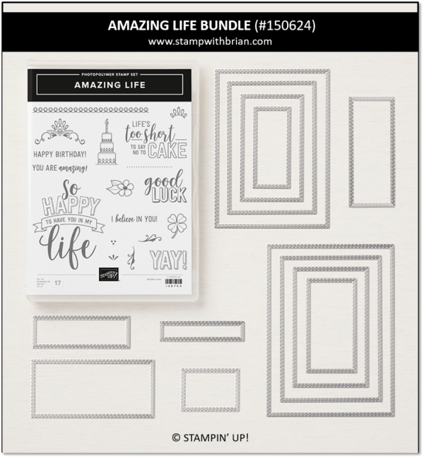 Amazing Life Bundle, Stampin' Up! 150624