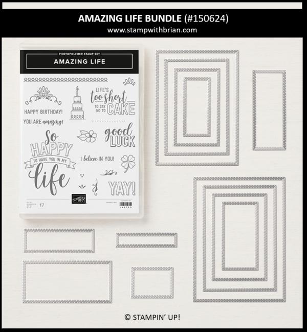 Amazing Life Bundle, Stampin' Up! 150624