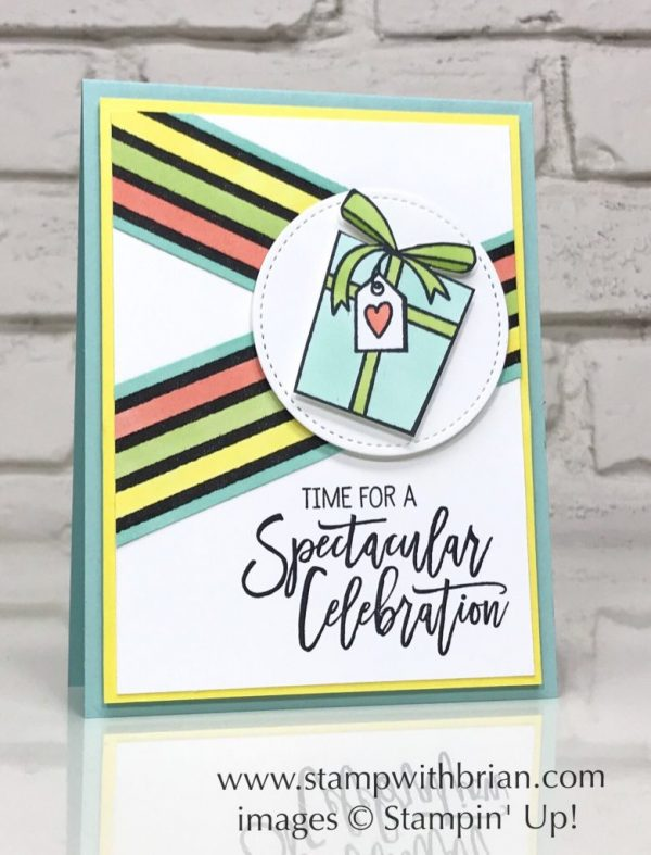 Birthday Cheer, Botanical Butterfly Designer Series Paper, Stampin' Up!, Brian King