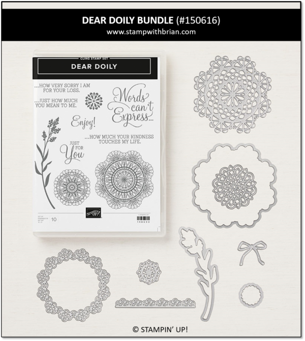 Dear Doily Bundle, Stampin' Up! 150616