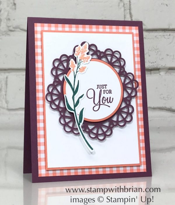 Dear Doily Bundle, Stampin' Up!, Brian KIng