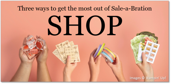 Get the Most out of Sale-a-Bration - Shop