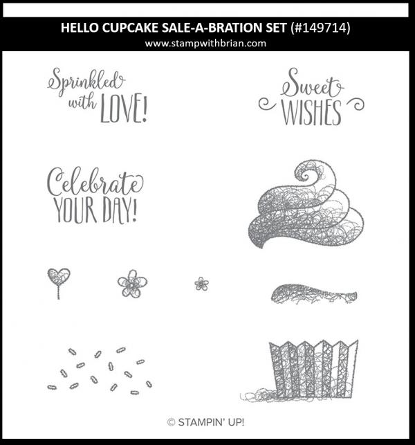 Hello Cupcake, Stampin' Up! 149714
