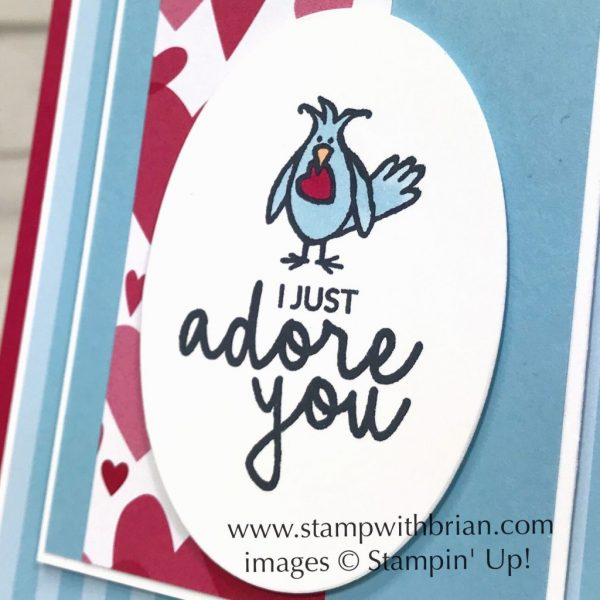 Hey Love, Incredible Like You, All My Love Designer Series Paper, Stampin' Up!, Valentine's Day card