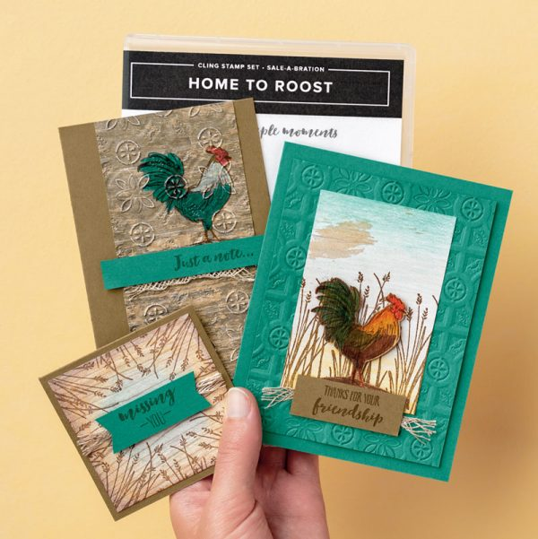 Home to Roost Project Kit, Stampin' Up! 151039