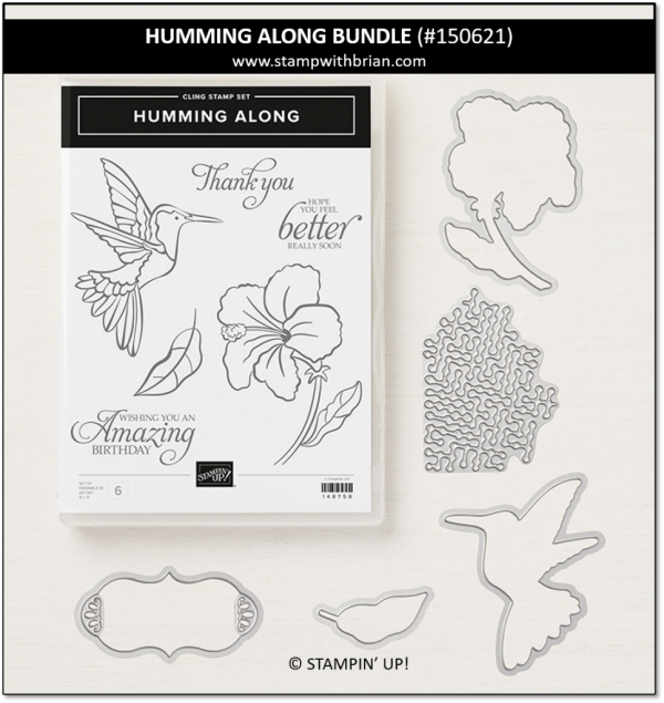 Humming Along Bundle, Stampin' Up! 150621