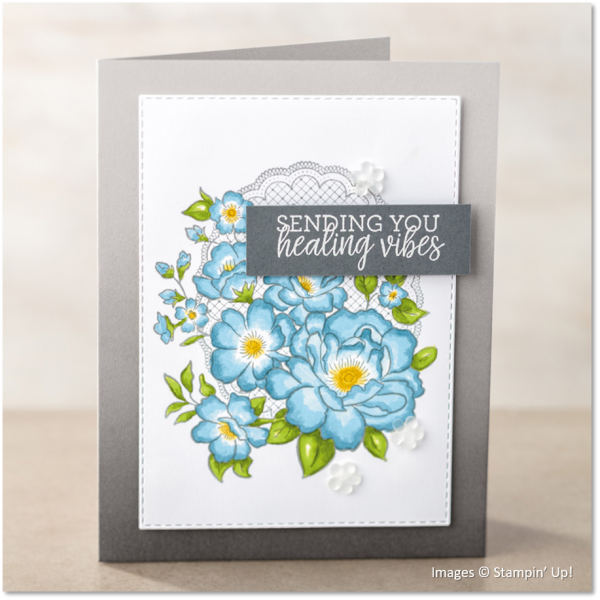 Lovely Lattice, Healing Hugs, Stampin' Up!