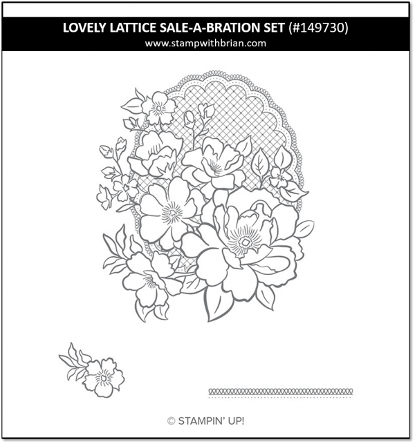 Lovely Lattice, Stampin' Up! 149730