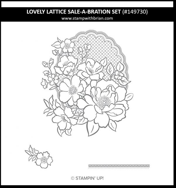 Lovely Lattice, Stampin' Up! 149730