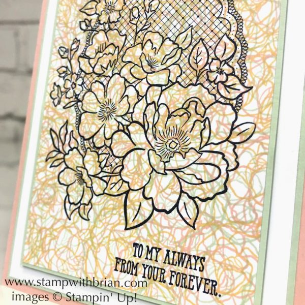 Lovely Lattice, Well Said, Stampin' Up!, Brian King