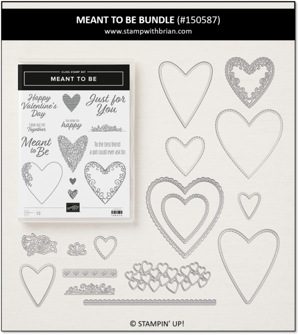 Meant to Be Bundle, Stampin' Up! 150587