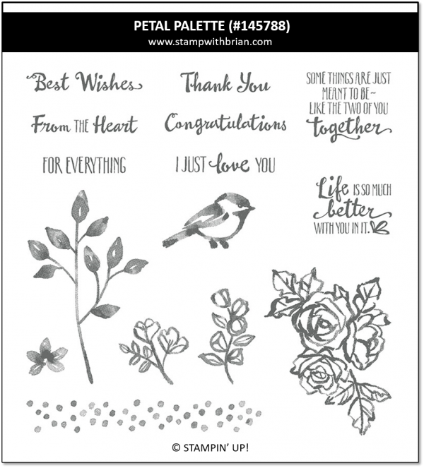 Petal Palette, Stampin' Up! 145788