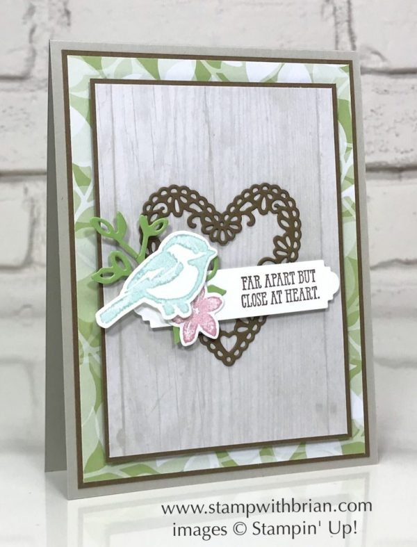 Petal Palette, Well Said, Be Mine Stitched Framelits Dies, Stampin' Up!, Brian King