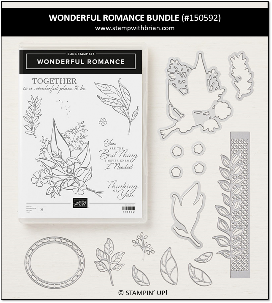 Wonderful Romance Bundle, Stampin' Up! 150592