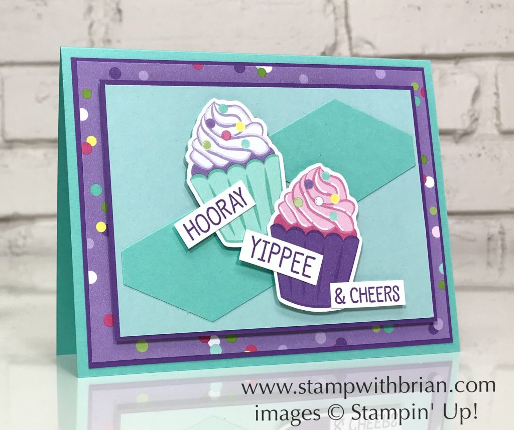 Birthday Cheer, How Sweet It Is Designer Series Paper, Stampin' Up!, Brian King