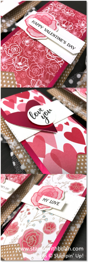 Forever Lovely Pillow Boxes, Stampin' Up!, Brian King