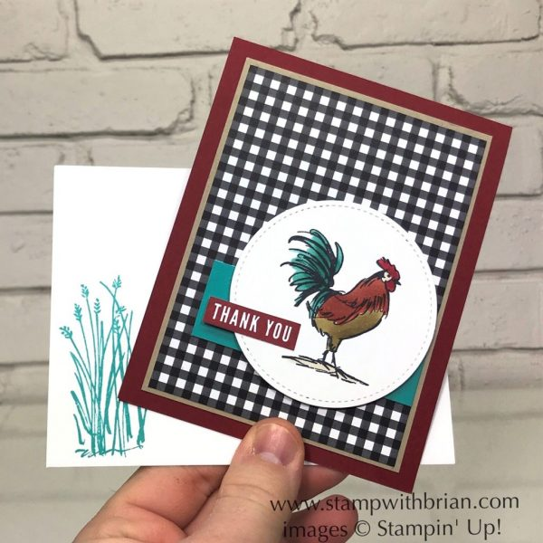 Home to Roost, Notes of Kindness, Stampin' Up!, Brian King