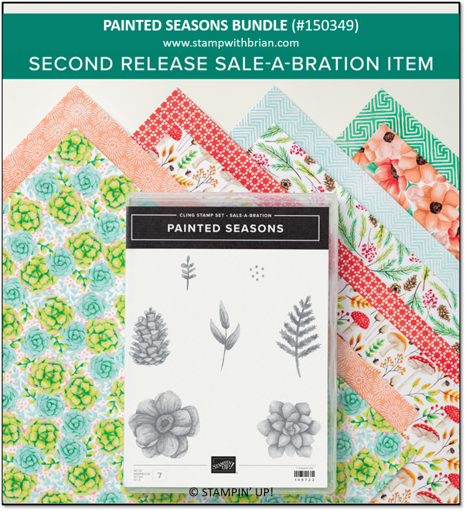 Painted Seasons Bundle, Stampin' Up! 150349