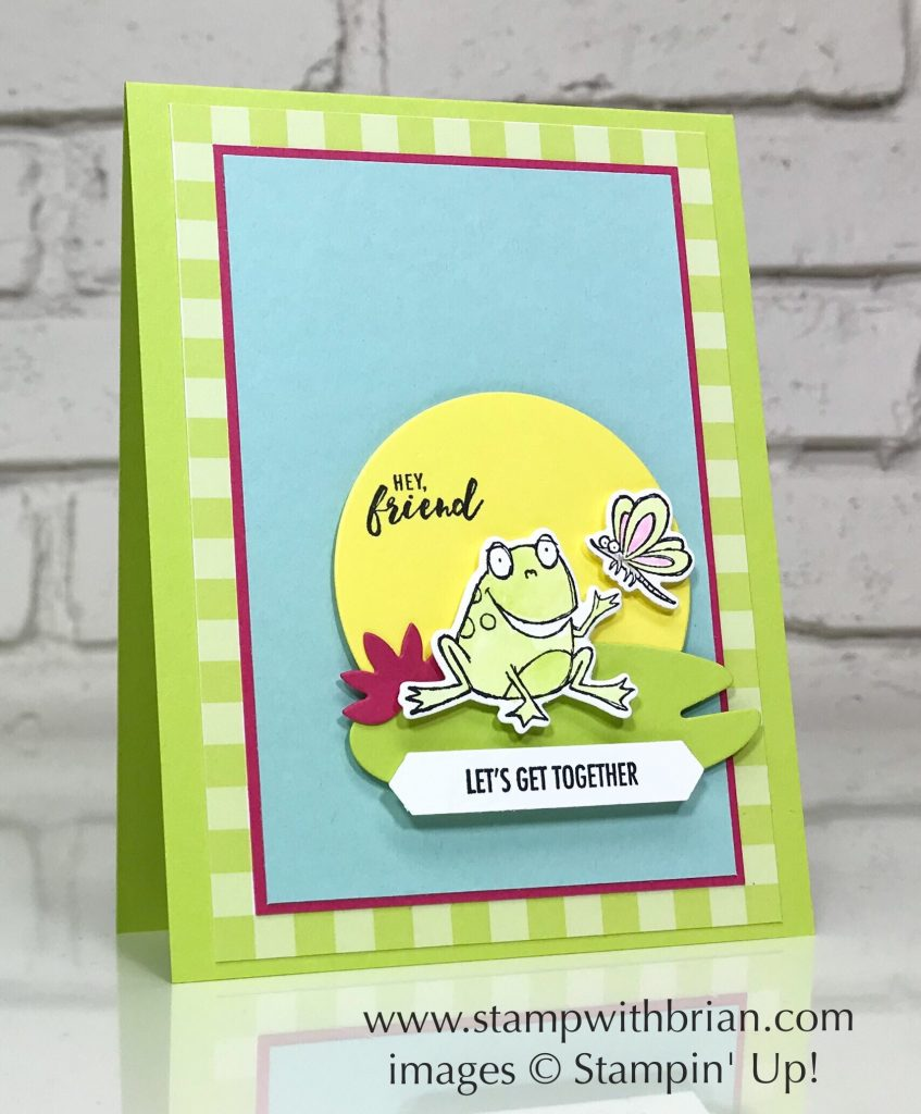 So Hoppy for You, Part of My Story, Itty Bitty Greetings, Stampin' Up!