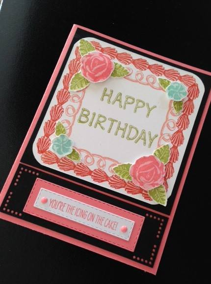 by Cathy Shockley, Stampin' Up!