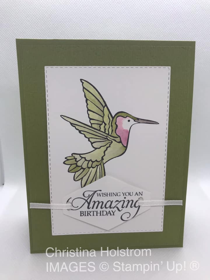 by Christina Holstrom, Stampin' Up!