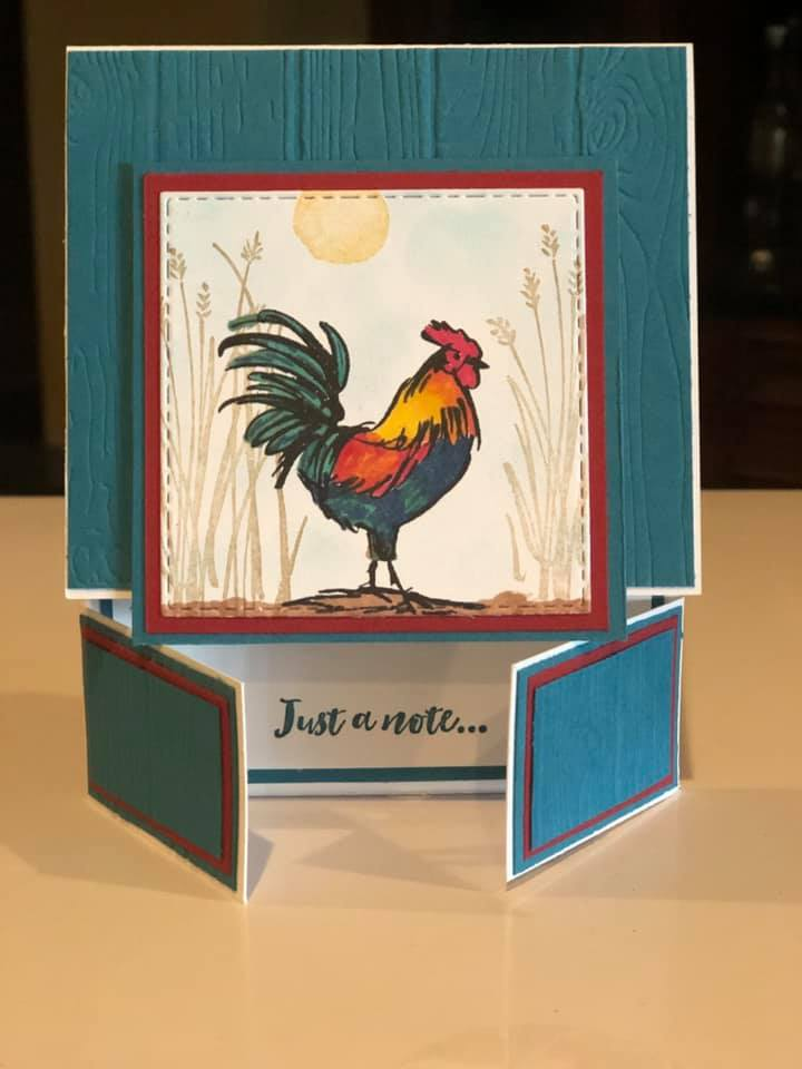 by Melanie Woodard, Stampin' Up!