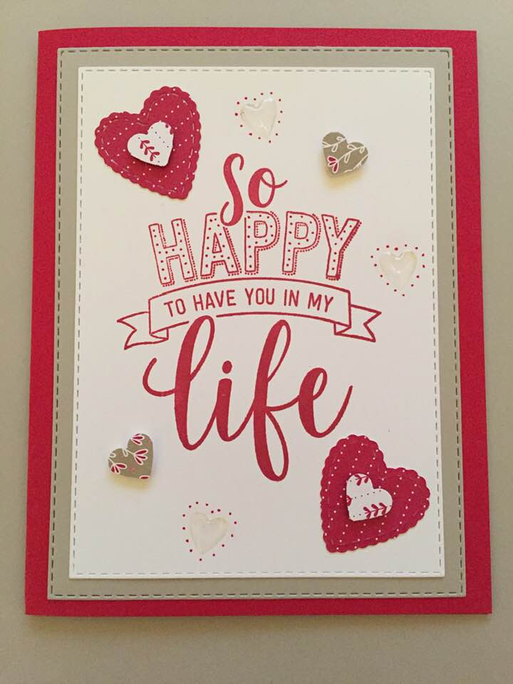 by Sue Seipel, Stampin' Up!