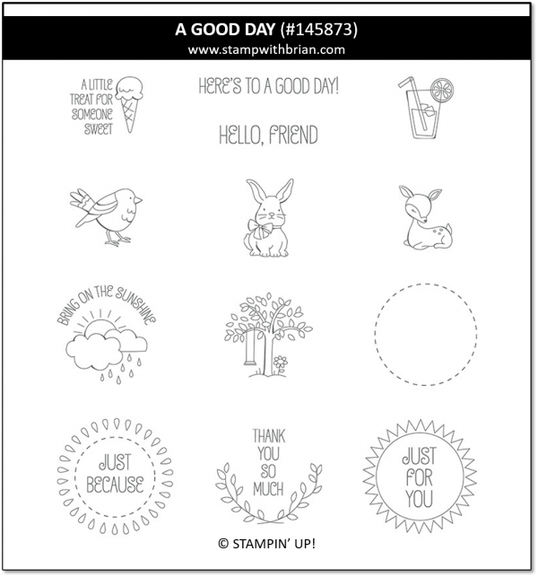 A Good Day, Stampin' Up!, 145873