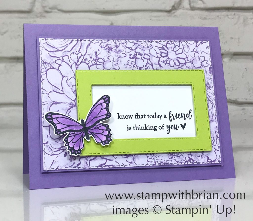 Butterfly Gala, Part of My Story, Stampin' Up!, Brian King