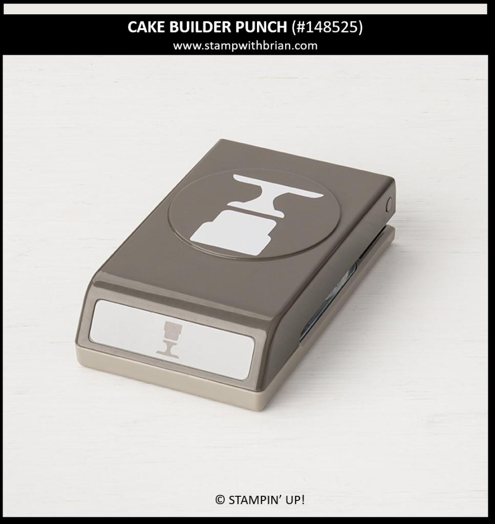 Cake Builder Punch, Stampin' Up!, 148525