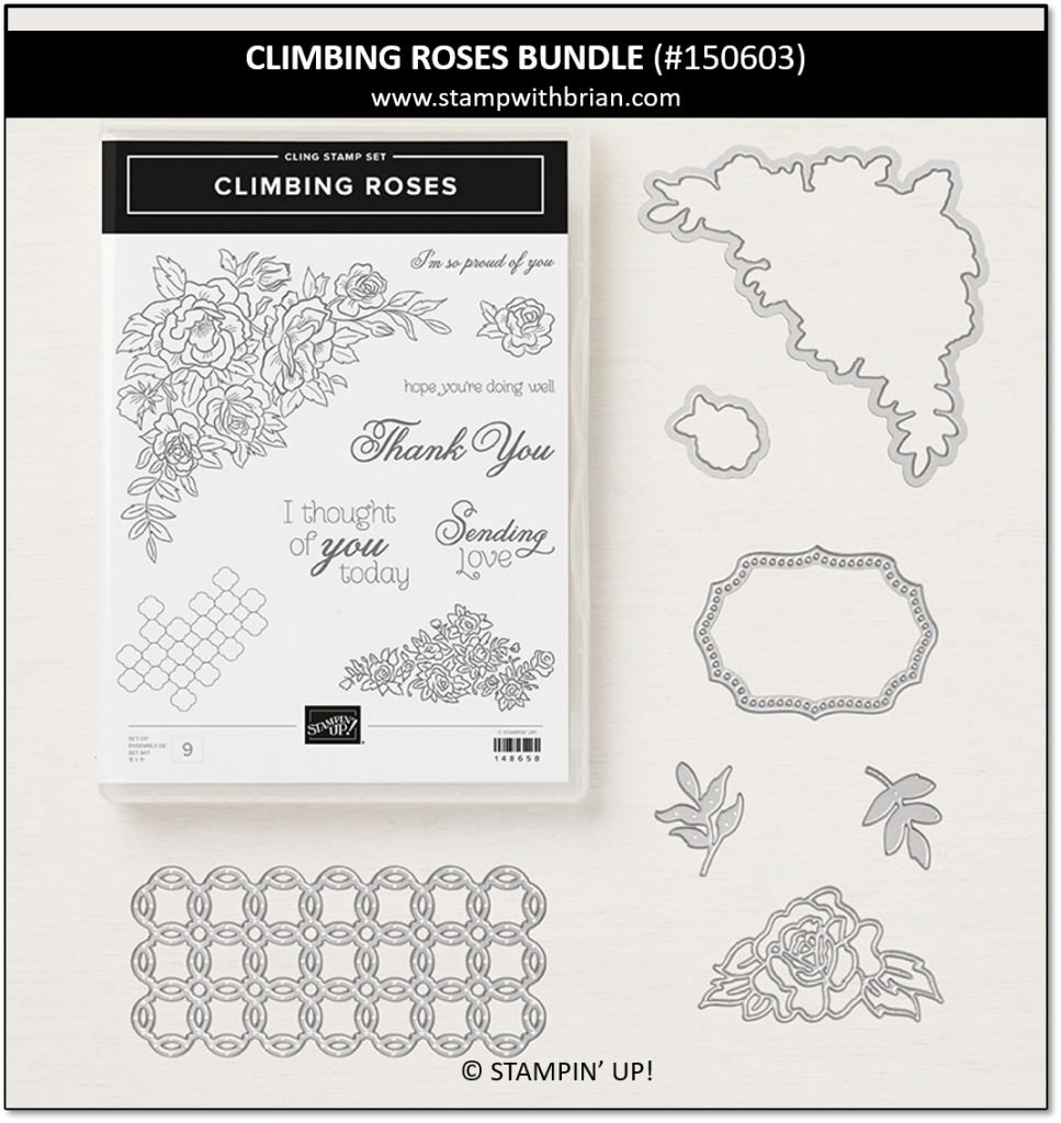 Climbing Roses Bundle, Stampin' Up! 150603