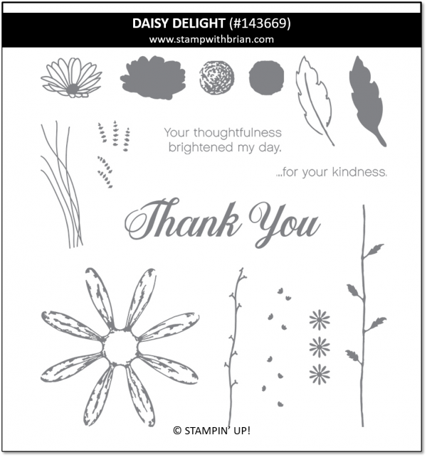 Daisy Delight, Stampin' Up!, 143669