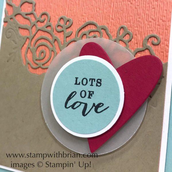 Forever Lovely Bundle, All Adorned, Stampin' Up!, Brian King