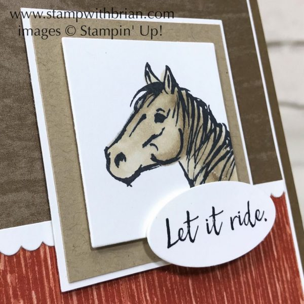 Let It Ride, Stampin' Up!, Brian King