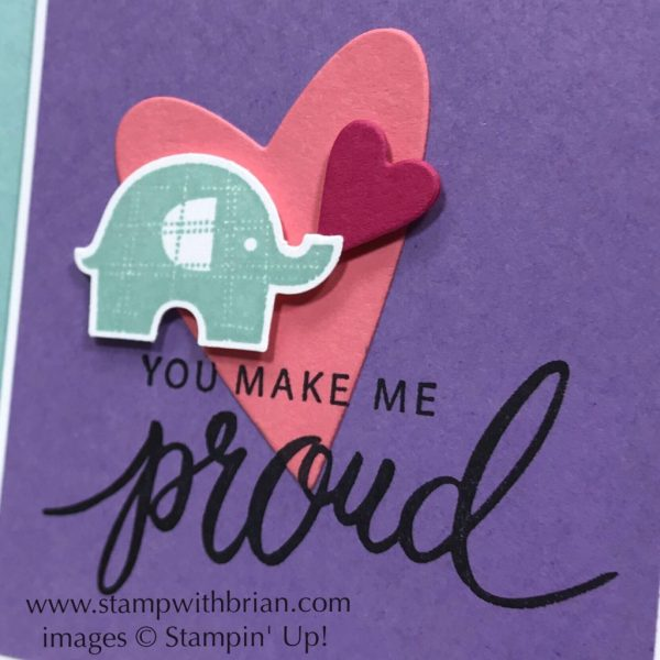 Little Elephant, Friendly Expressions, Stampin Up!, Brian KIng
