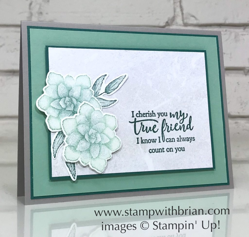 Painted Seasons, Strong & Beautiful, Stampin' Up!, Brian King