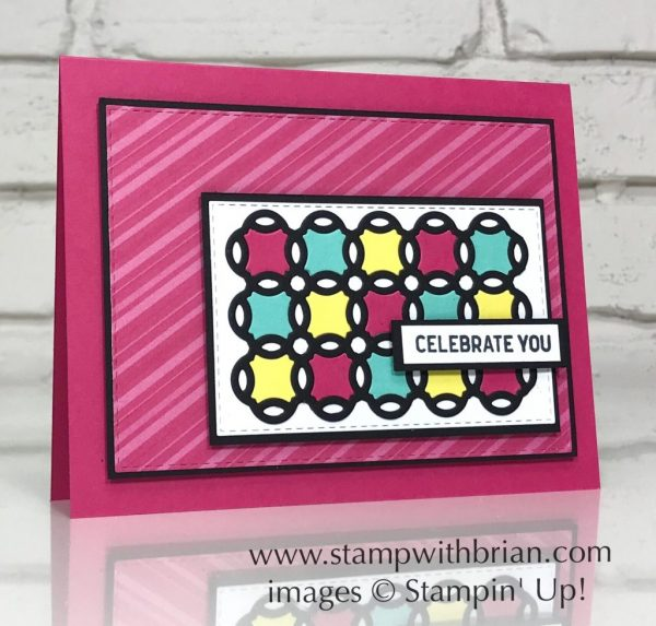 Rose Trellis Framelits Dies, Itty Bitty Birthday, Stampin' Up!, Brian King