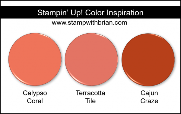 2019-2021 In Color Comparison, Terracotta Tile